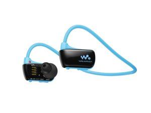Sony Walkman Waterproof MP3 Player and Waterproof Headphones