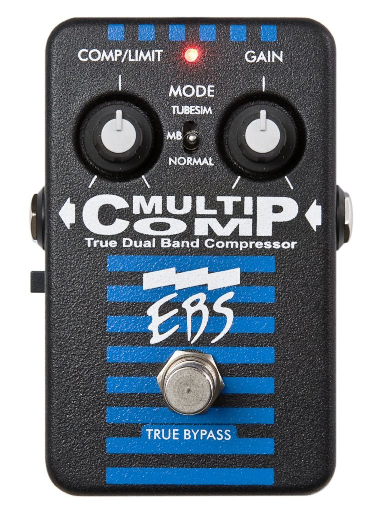EBS Multi Comp Bass Compressor Pedal