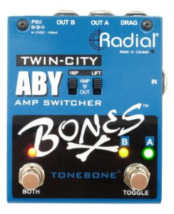 Radial Bones Twin City ABY Pedal