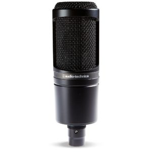 Audio-Technica AT2020 - the Best Mic for Rap Vocals