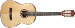 Fender FC-100 Classical Nylon String Acoustic Guitar Pack with Tuner, Picks, Strings, and Gig Bag