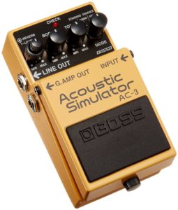 Boss AC-3 - Best Acoustic Simulator Pedals