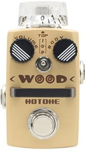 Hotone TPSWOOD Acoustic Simulator Pedal