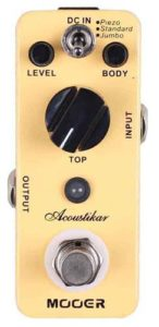 Mooer MAC1 Acoustic Simulator Pedal