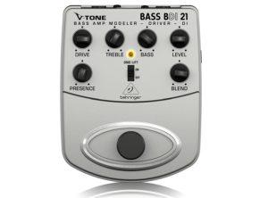 Behringer V-Tone Bdi21 Bass Amp Modeler / Direct Recording Preamp / Di Box