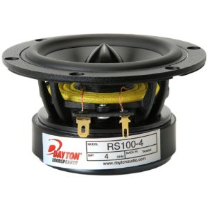 "Dayton Audio RS100-4 4"" Reference Full-Range Driver"