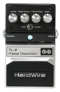 DigiTech TL-2 HardWire Metal Distortion Extreme-Performance Pedal