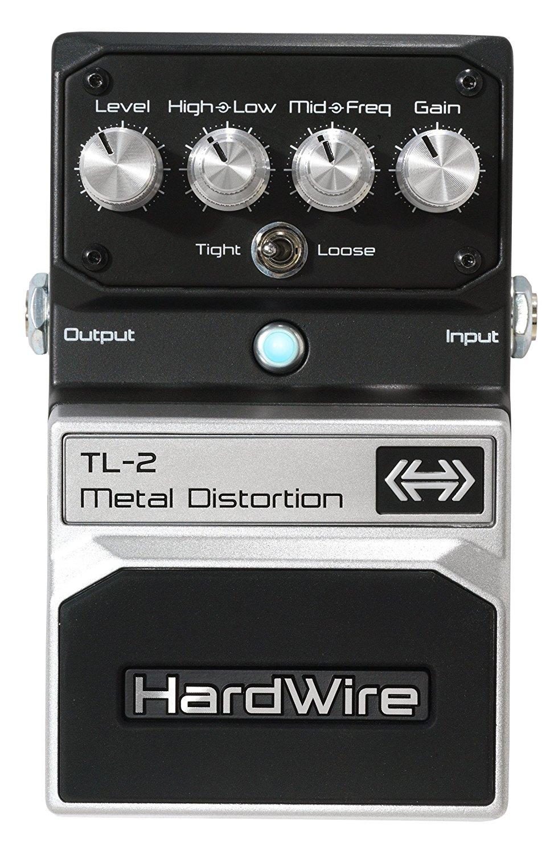 digitech tl 2 hardwire metal distortion extreme performance pedal. Black Bedroom Furniture Sets. Home Design Ideas