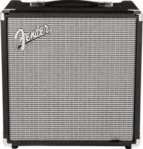 Fender Rumble 25 v3 - one of the best small bass practice amps under $100