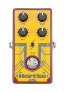 Hartke HF44 Bass Fuzz Effects Pedal