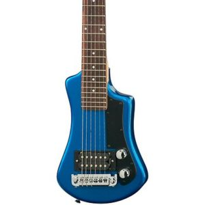 Hofner Contemporary Shorty HCT-SH-BL-O Solid-Body Electric Guitar - one of the best electric guitars for small hands