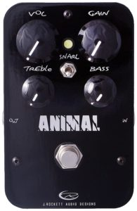 J Rockett Audio Designs ANIMAL Pro Guitar Distortion Effects Pedal