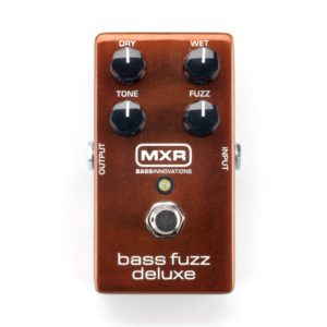 MXR M84 Bass Fuzz Deluxe Pedal - one of the Best Bass Fuzz Pedals