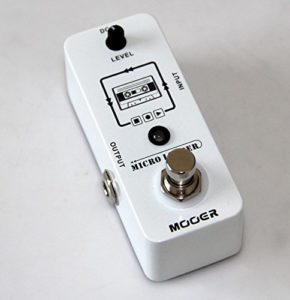 Mooer Micro Looper Loop Recording Effects Pedal / Guitar Pedal