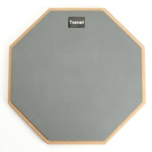 Tosnail 12-inch Silent Drum Practice Pad