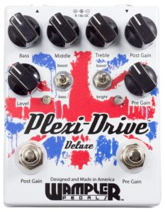 Wampler Plexi-Drive Deluxe Guitar Effects Pedal - one of the best Plexi Pedals