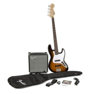 Squier Beginner Bass Package