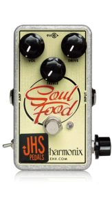"JHS Electro-Harmonix Soul Food ""Meat & 3"" Mod Pedal - one of the Best Klon Centaur Clones"