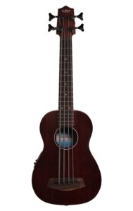 Kala Rumbler U-Bass Fretted Acoustic-Electric Portable Bass Ukulele