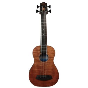 Kala UBASS-EM-FS Exotic Mahogany U-Bass Fretted - one of the best bass ukuleles