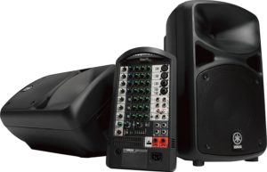 Yamaha STAGEPAS 600I - one of the best portable PA systems