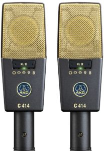 AKG Pro Audio C414 XLII - Best Overhead Drum Mic