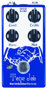 EarthQuaker Devices Tone Job EQ and Booster Effects Pedal