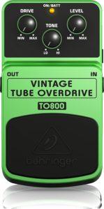 Behringer TO800 Vintage Tube Overdrive Pedal