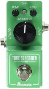 Ibanez Tube Screamer Mini - one of the best tube screamer clones